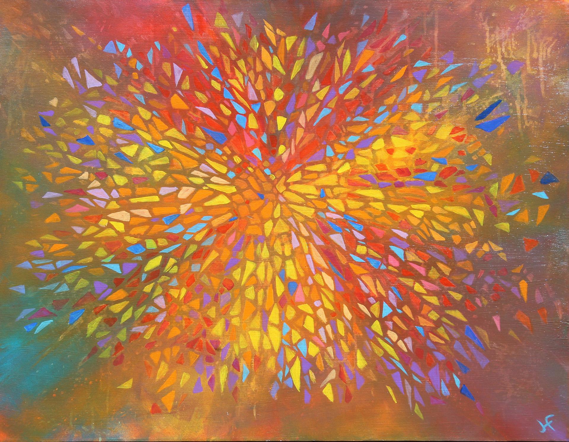 Engel Schilderij Sylgo