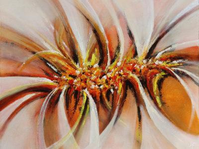 Abstract schilderij lijnen vormen kleuren door Hans Fontijn (Sylgo)